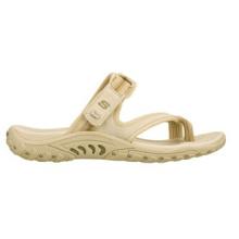Sandalias planas de tiras de gamuza suave y suave de Feel Groovy