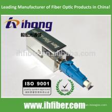 LC UPC cuadrado adaptador de fibra óptica desnuda