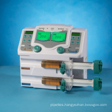Double Channel Syringe Pump Equipment with Cheap Price