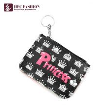 HEC Fashion Custom Ladies Purse Mini Coin Wallet With Zipper