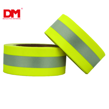 Green FR Reflective Warning Fabric Tape UL NFPA1971
