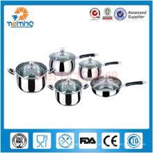 10 pcs utensílios de cozinha de aço inoxidável eco friendly