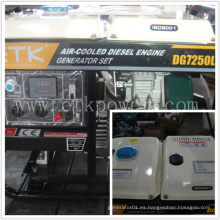 6.0kw Simple para operar el grupo electrógeno diesel