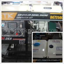 6.0kw Simple to Operate Diesel Generator Set