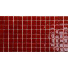 South Africa Anti-Skidding Homochromy Red Mosaic Glass Tile