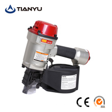 CN57 Air Coil Nailer 15 Degree Pneumatic Coil Nail Gun for Pallet