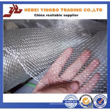 Treillis métallique serti carré en acier inoxydable 304