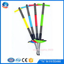 China factory direct supply colorful jumping pogo stick for kids child children, cheap pogo stick for sale