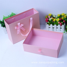 Luxury pull out shoes cardboard paper box