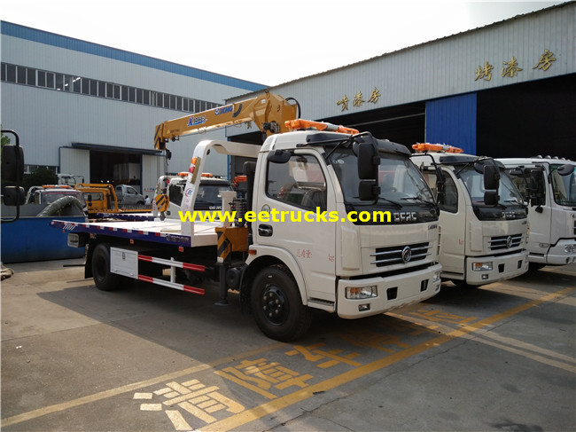 6T Tow Trucks with Crane