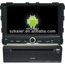 reprodutor de DVD do carro para o sistema Android Ssangyong Rexton