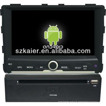lecteur dvd de voiture pour le système Android Ssangyong Rexton