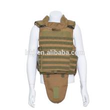 Chaqueta táctica del ejército de color caqui Chaleco antibalas de protección completa