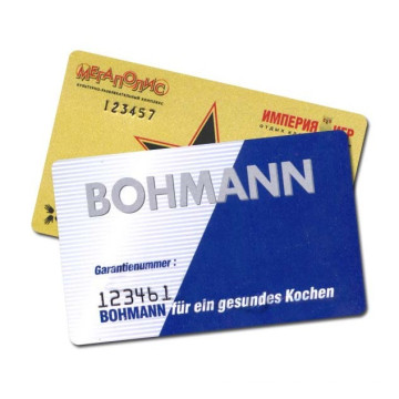Печатная карточка для штрих-кодов смарт-карт