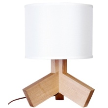 Modern Speical Solid Wood Table Lamp (LBMT-JK)