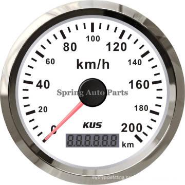 Popular 85mm GPS Speedometer Velometer 200km/H 12V 24V for All Cars Motorcycles Trucks