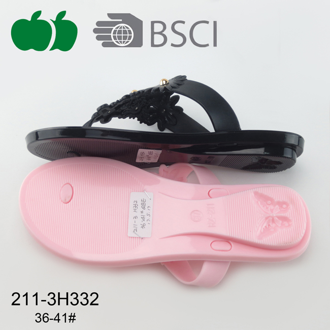 pvc ladies slippers