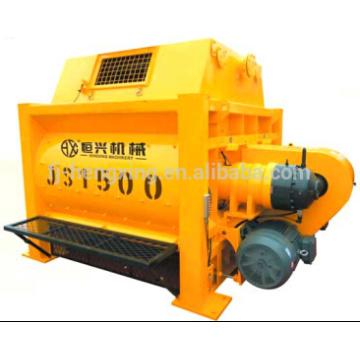 JS1500 compulsary twin shaft concrete mixer, concrete mixing machine