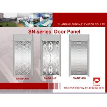Painel da porta do elevador com padrão reticular (SN-DP-316)