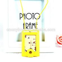 Promotional plastic metro card holder