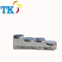 60ml Plastikglas PET klare plastische kosmetische Flasche Lebensmittelqualität