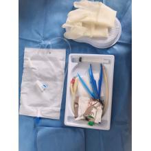 bolsa de orina pull-push con válvula de salida para adultos