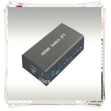 5x1 HDMI Switcher (Пять входных сигналов HDMI, переключаемых на один приемник HDMI)