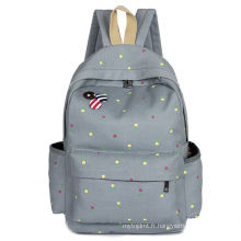 High quality promotional nylon school backpack student bag