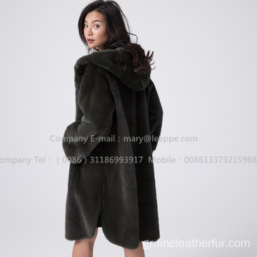 Κοπέλα Velvet Mink Coat Women