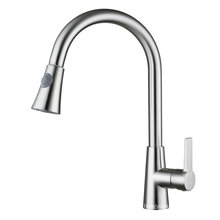 Pull out Brass Kitchen Faucet