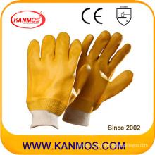 Resistencia al ácido Guantes de trabajo industriales de seguridad de PVC (51202)
