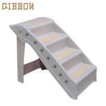GIBBON Folding Plastic dog steps for bed