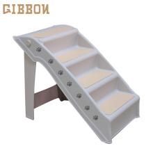 GIBBON Folding Plastic dog steps for bed