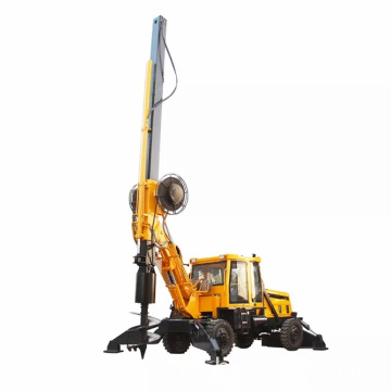 HWDR150D Wheel Rotary Pile Driver