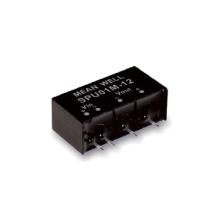 Paquete SIP de 1W Meanwell SPU01 y serie DPU01 Convertidor no regulado DC-DC