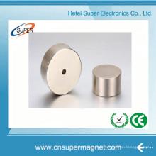 Forte N35 N52 N45 cilindro neodímio ímans de disco