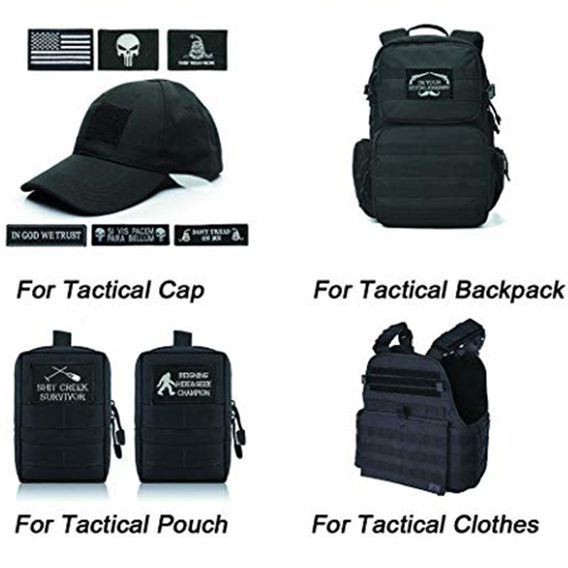 Tactical Medical Embroidery Patches