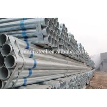 Tubo de andamio galvanizado en caliente