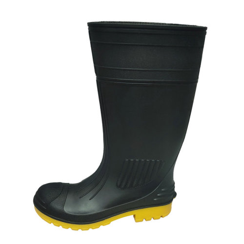 Venta al por mayor PVC Safety Rain Gumboot