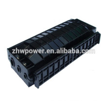 Fiber optic joint closure outdoor horizontal type fiber optic splice closure FOSC, optical fiber cable joint closure