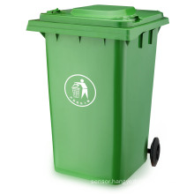 360 Liter Garbage Bin Outdoor Plastic Waste Bin (plastic dustbin) with En840