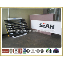 """1""""""""-8"""""""" Galvanised steel pipe to ASTM and various standards exported to Thailand market"""