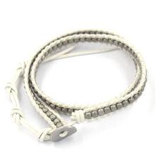 Мода этнического Trend Плетеные веревки бисер браслет