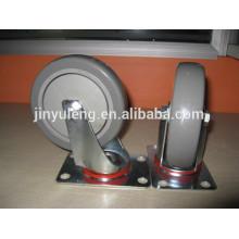 5-Zoll-Schwenk-PVC-Lenkrad für die Industrie