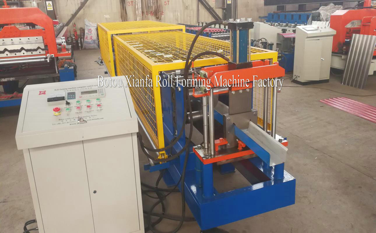 metal profiles roll forming machine