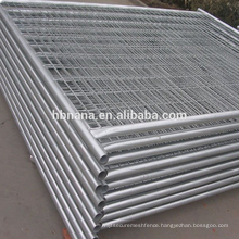 High quality factory used temporary fencing / temporary fence stands concrete
