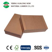 Solid Swimming Pool Wood Plastic Composite Flooring