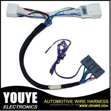 Chicote de fios automotivo feito sob encomenda do fio e conjunto de cabo com os conectores do ampère, do Molex e do Jae