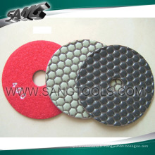 Good Diamond Polish Pads for Stone Processing (SG-089)