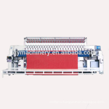 ce certified computerized multi-needle quilting and embroidery machine model qy machinery